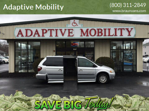 2003 Dodge Grand Caravan for sale at Adaptive Mobility Wheelchair Vans in Seekonk MA