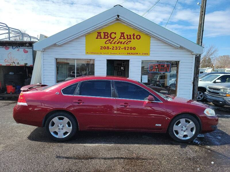 2007 Chevrolet Impala for sale at ABC AUTO CLINIC - Chubbuck in Chubbuck ID