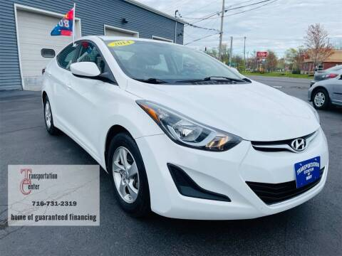 2014 Hyundai Elantra for sale at Transportation Center Of Western New York in Niagara Falls NY