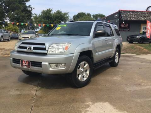 2005 Toyota 4Runner for sale at A & J AUTO SALES in Eagle Grove IA