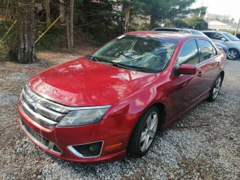 2010 Ford Fusion for sale at KRIS RADIO QUALITY KARS INC in Mansfield OH