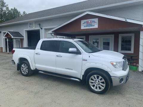 2013 Toyota Tundra for sale at M&A Auto in Newport VT
