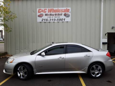 2008 Pontiac G6 for sale at C & C Wholesale in Cleveland OH