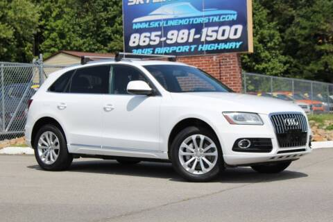 2014 Audi Q5 for sale at Skyline Motors in Louisville TN