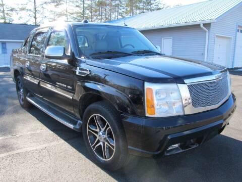 2004 Cadillac Escalade EXT for sale at Scott's Auto Wholesale LLC in Locust Grove VA