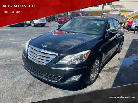 2014 Hyundai Genesis for sale at AUTO ALLIANCE LLC in Miami FL