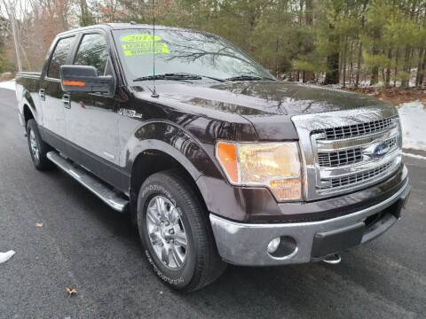 2013 Ford F-150 for sale at Showcase Auto & Truck in Swansea MA