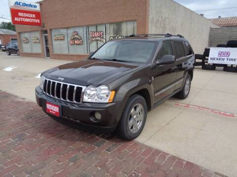 2006 Jeep Grand Cherokee for sale at Rediger Automotive in Milford NE