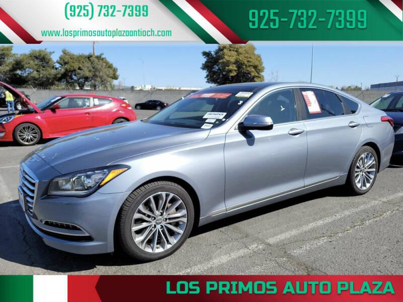2015 Hyundai Genesis for sale at Los Primos Auto Plaza in Antioch CA