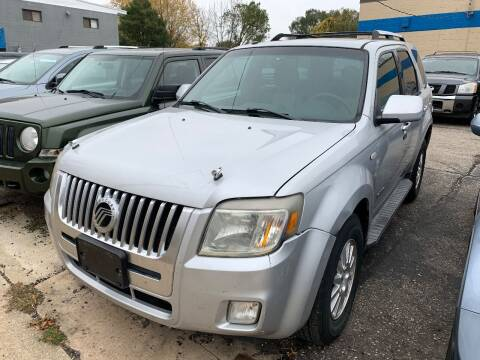 2008 Mercury Mariner for sale at BEAR CREEK AUTO SALES in Rochester MN