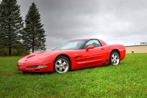 2001 Chevrolet Corvette for sale at Hooked On Classics in Watertown MN