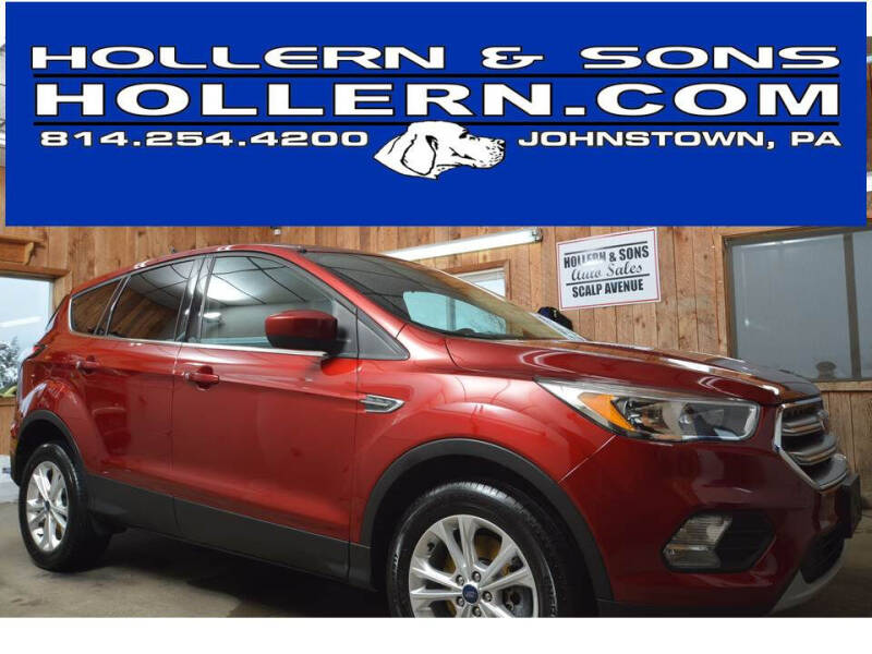 2017 Ford Escape for sale at Hollern & Sons Auto Sales in Johnstown PA