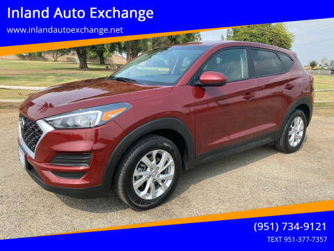 2019 Hyundai Tucson for sale at Inland Auto Exchange in Norco CA