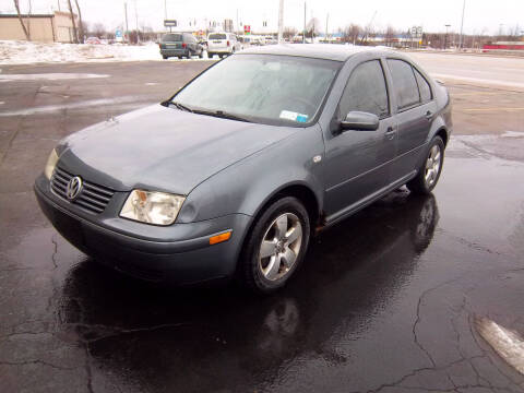 2003 Volkswagen Jetta for sale at Brian's Sales and Service in Rochester NY