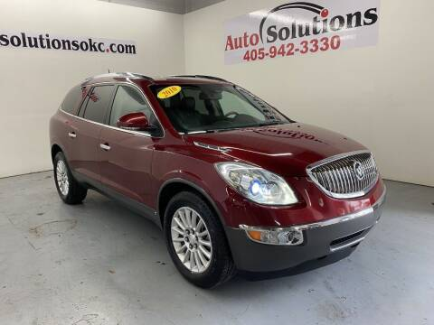 2010 Buick Enclave for sale at Auto Solutions in Warr Acres OK