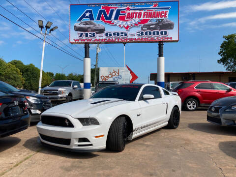 2014 Ford Mustang for sale at ANF AUTO FINANCE in Houston TX