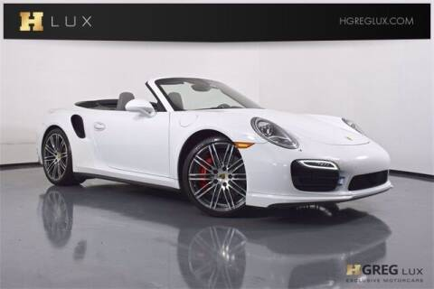 2016 Porsche 911 for sale at HGREG LUX EXCLUSIVE MOTORCARS in Pompano Beach FL