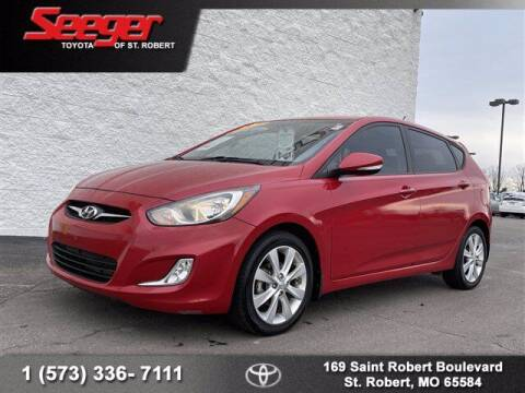 2013 Hyundai Accent for sale at SEEGER TOYOTA OF ST ROBERT in St Robert MO