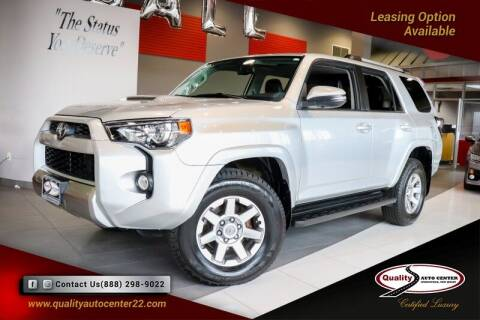 2016 Toyota 4Runner for sale at Quality Auto Center in Springfield NJ