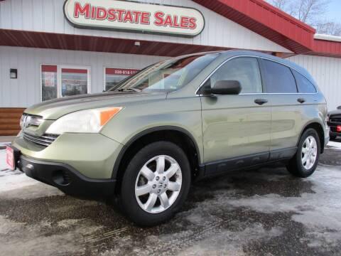 2007 Honda CR-V for sale at Midstate Sales in Foley MN
