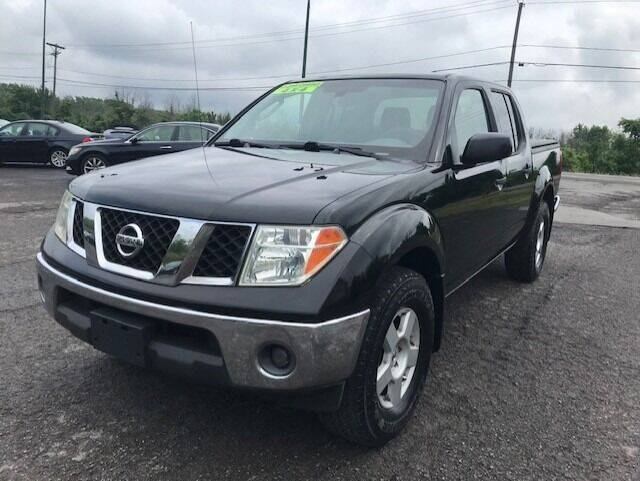 2006 Nissan Frontier for sale at FUSION AUTO SALES in Spencerport NY