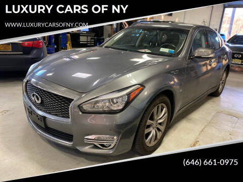 2017 Infiniti Q70 for sale at LUXURY CARS OF NY in Queens NY