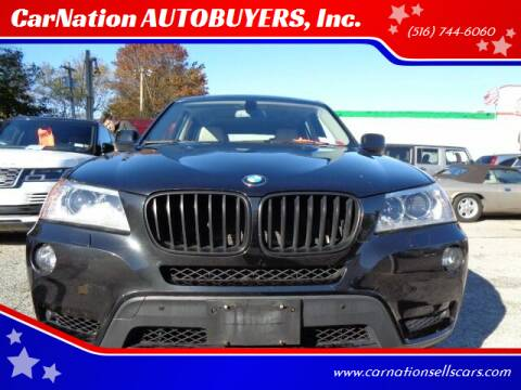 2011 BMW X3 for sale at CarNation AUTOBUYERS, Inc. in Rockville Centre NY