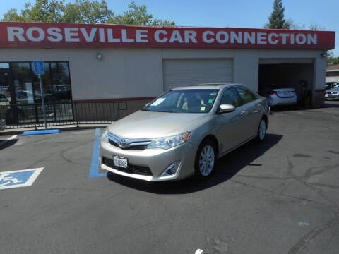 2014 Toyota Camry for sale at ROSEVILLE CAR CONNECTION in Roseville CA