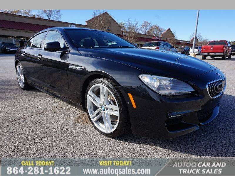 2014 BMW 6 Series for sale at Auto Q Car and Truck Sales in Mauldin SC