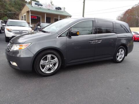 2013 Honda Odyssey for sale at Luxury Auto Innovations in Flowery Branch GA