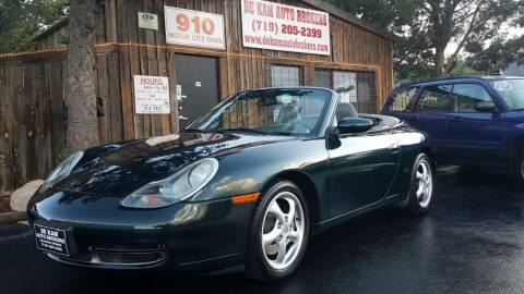 2001 Porsche 911 for sale at De Kam Auto Brokers in Colorado Springs CO