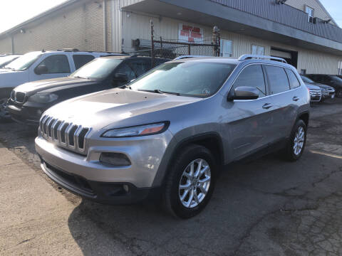 2014 Jeep Cherokee for sale at Six Brothers Auto Sales in Youngstown OH