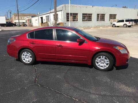 2009 Nissan Altima for sale at Westok Auto Leasing in Weatherford OK