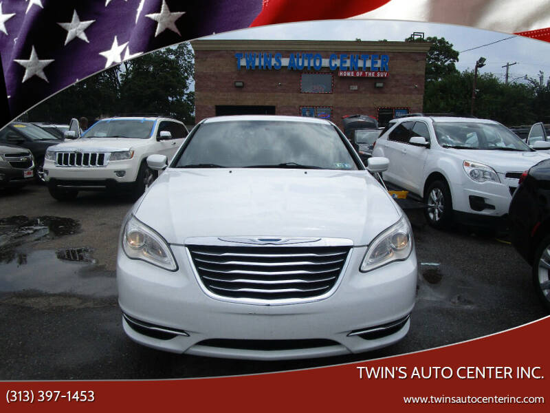2012 Chrysler 200 for sale at Twin's Auto Center Inc. in Detroit MI