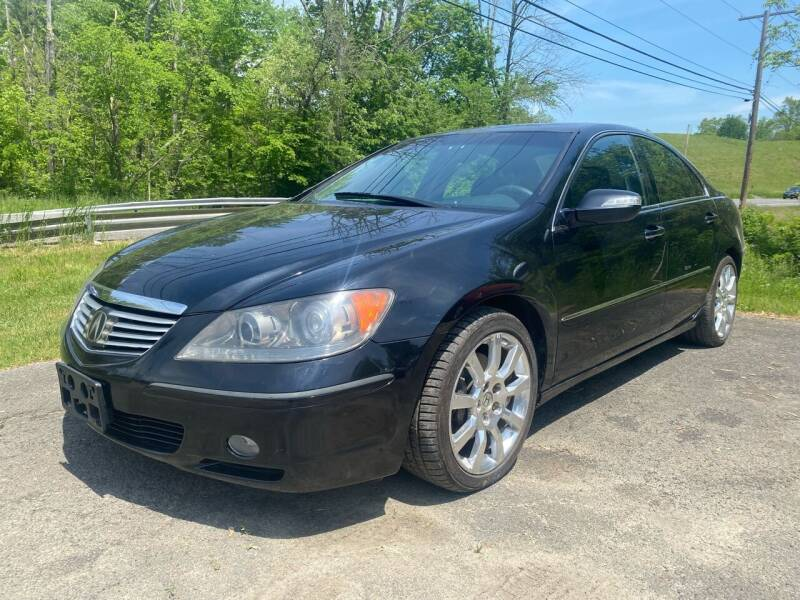 2006 Acura RL for sale at D & M Auto Sales & Repairs INC in Kerhonkson NY