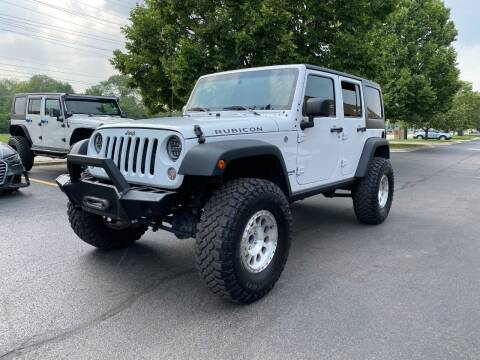 2016 Jeep Wrangler Unlimited for sale at VK Auto Imports in Wheeling IL