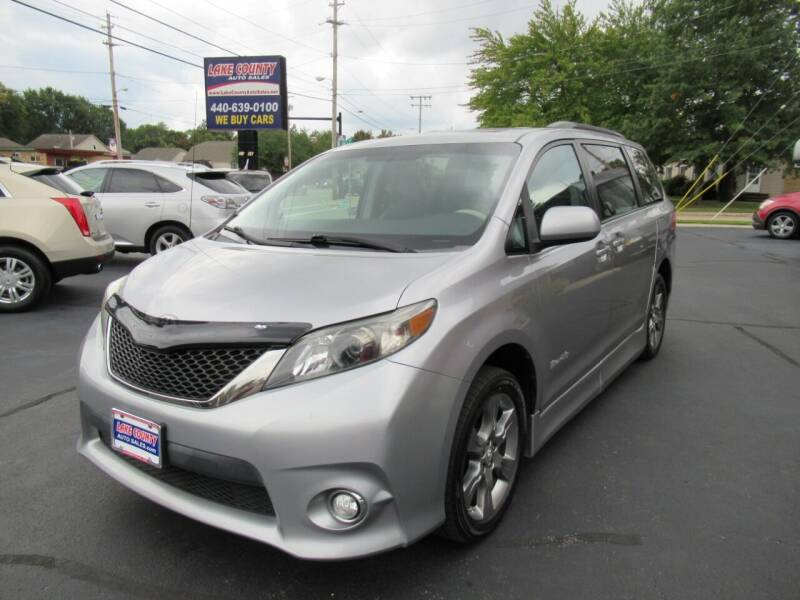 2011 Toyota Sienna for sale at Lake County Auto Sales in Painesville OH
