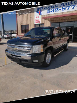 2011 Chevrolet Silverado 1500 for sale at TEXAS AUTOMOBILE in Houston TX