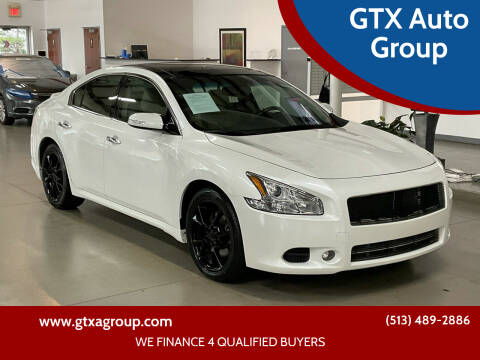 2014 Nissan Maxima for sale at GTX Auto Group in West Chester OH