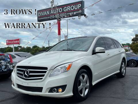 2011 Mercedes-Benz R-Class for sale at Divan Auto Group in Feasterville Trevose PA