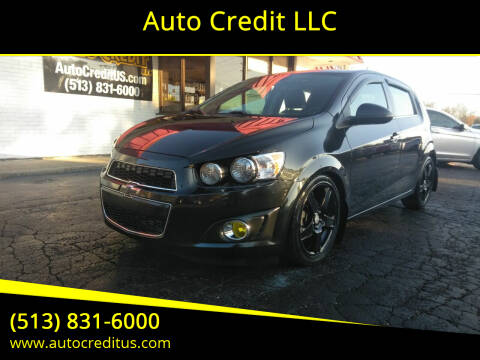 2015 Chevrolet Sonic for sale at Auto Credit LLC in Milford OH