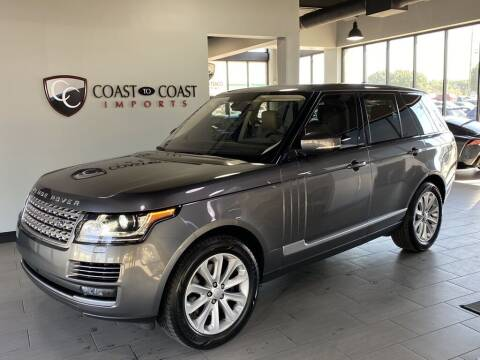 2016 Land Rover Range Rover for sale at Coast to Coast Imports in Fishers IN