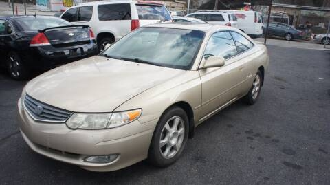 2003 Toyota Camry Solara for sale at GM Automotive Group in Philadelphia PA