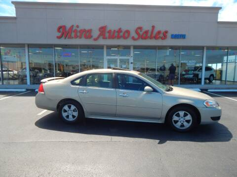 2012 Chevrolet Impala for sale at Mira Auto Sales in Dayton OH