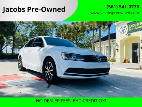 2016 Volkswagen Jetta for sale at Jacobs Pre-Owned in Lake Worth FL