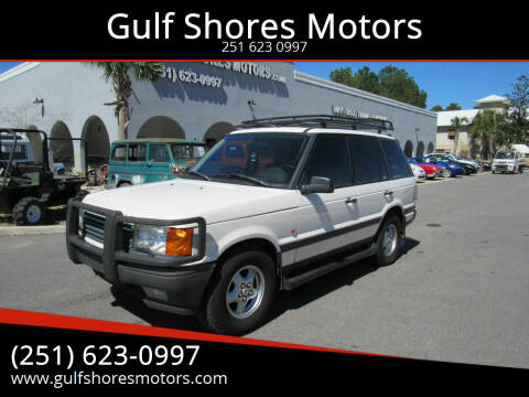 1995 Land Rover Range Rover for sale at Gulf Shores Motors in Gulf Shores AL