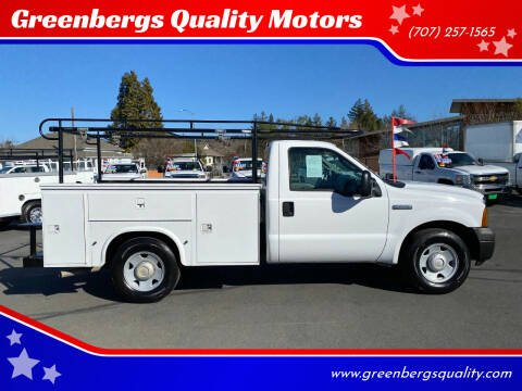 2007 Ford F-250 Super Duty for sale at Greenbergs Quality Motors in Napa CA