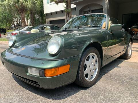 1991 Porsche 911 for sale at American Classics Autotrader LLC in Pompano Beach FL