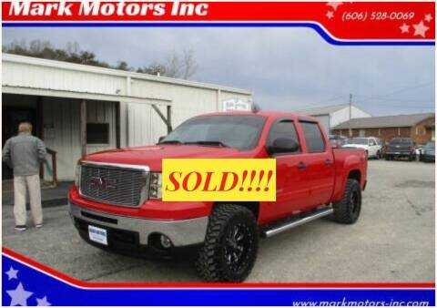 2011 GMC Sierra 1500 for sale at Mark Motors Inc in Gray KY