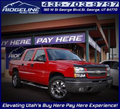 2004 Chevrolet Avalanche for sale at Ridgeline Auto Sales in Saint George UT